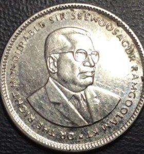 Монета 20 центов 1999, Маврикий (государство)