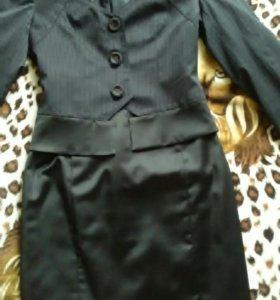 Костюм, юбка с пиджаком