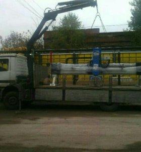 Манипулятор в Зеленограде кран 5 тонн 10 метров бо
