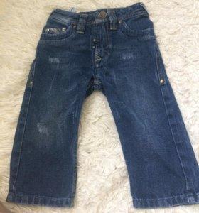 Фирменные джинсы на малыша
