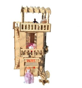 Кукольный дом для Барби,Winx,Монстер Хай.