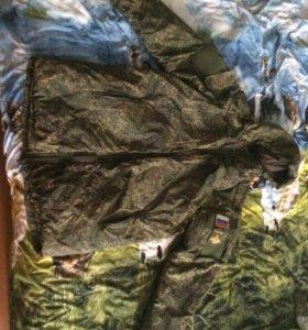 Зимний комплект ВКБО(куртка+ватники)