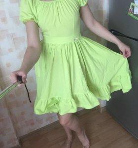 Платье, сарафан яркий