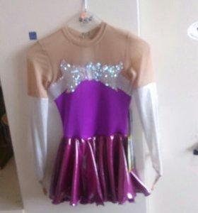 Платье для выступлений. Фигурное катание. 110-116