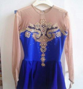 Платье для выступлений. Фигурное катание. 122-128