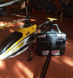 Вертолёт с камерой