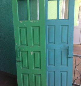 Двери на 60 см. (2 шт. )