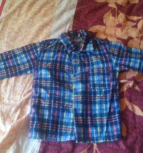Рубашка теплая