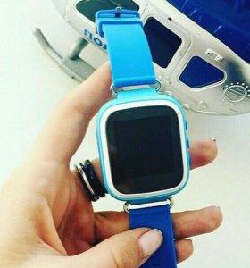 Детские умные часы Baby Watch Q60S, синие