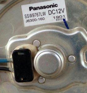 Мотор вентилятора радиатора кондиционера Приора
