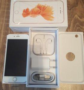 Iphone 6s rose gold 16g новый