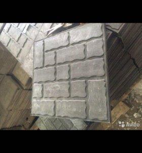 Дачная декоративная плитка ( полимер песчаная )