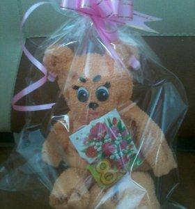 """Подарочное полотенце"""" Медвежонок"""""""