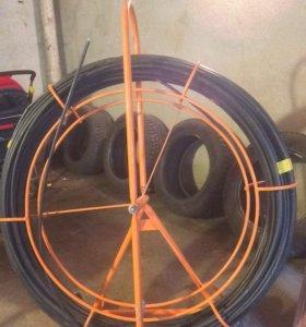 Устройство для протяжки кабеля УЗК на тележке