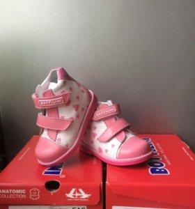 Детская обувь Ботинки. Натуральная кожа