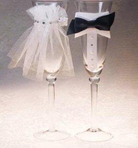 Фужеры на свадьбу