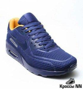 Синие кроссовки Nike Air р-р 40,41,42,43