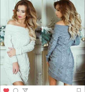 Продам платье, новое не подошло по размеру. Серое