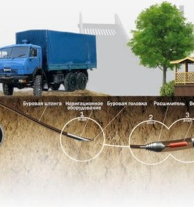 Гнб, водопровод, канализация