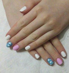 Покрытие ногтей гель лаком