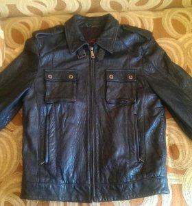 Куртка кожаная OFFset ( Hugo Boss) новая