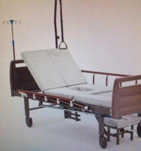Кровать кардио + матрас противопролежневый