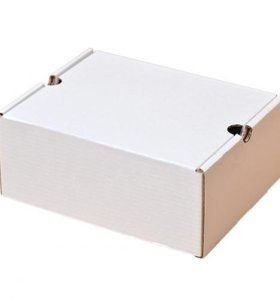 Белая коробка (картон) 30х24х13 см