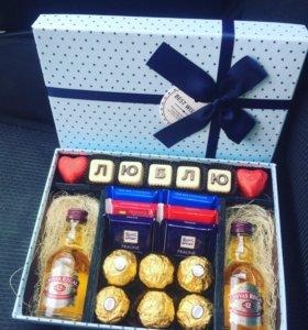 Подарок , коробочка счастья