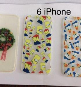 Чехлы на 6 iPhone,5S iPhone,iPod