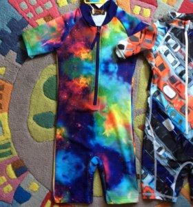 Новый костюм с УФ защитой размер 104