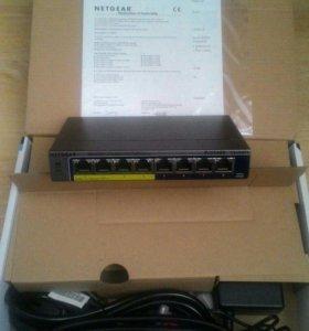 Коммутатор Netgear ProSafe GS108PE-300EUS
