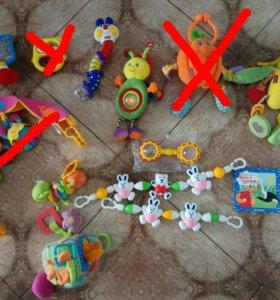 Игрушки погремушки для детей