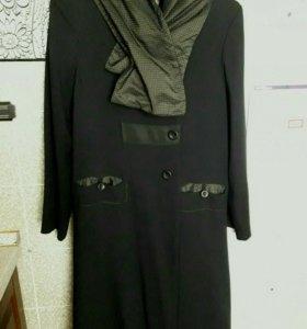 Стильное пальто р. 46-48
