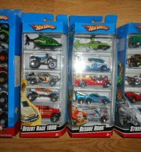 Набор игрушек из 5 машин
