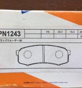 Колодки задние Toyota JNBK PN1243
