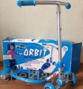 Новый самокат orbit roll n fun. Южная Корея.