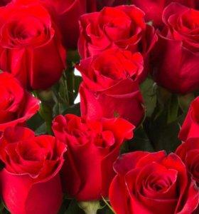 Розы срезанные