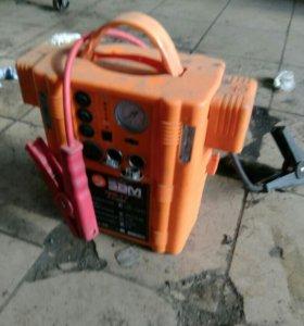 Пусковое устройство насос фонарик в 1
