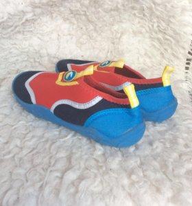 Детские коралловые тапочки для купания в море🌊