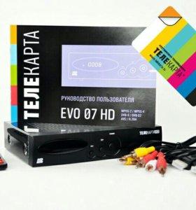 Спутниковый ресивер EVO-07HD