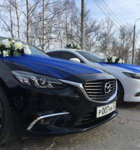 Авто на свадьбу.Свадебный кортеж.