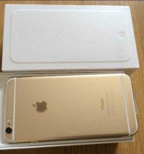Айфон 6 gold, 16 Гб