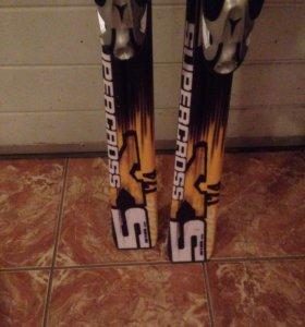 Горные лыжи Atomic+крепление+ботинки