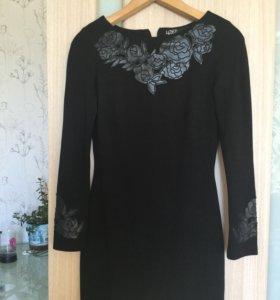 Платье чёрное love republic