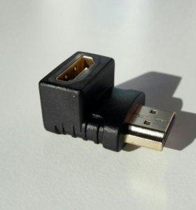 Переходник HDMI угловой