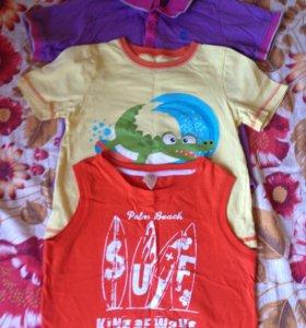 Поло,футболка,майка на 110-116 см