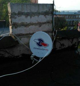 Установка спутниковых антенн.Спутниковое ТВ.