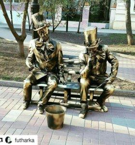 Живая скульптура Живые Статуи ФОТОЗОНА Ростов