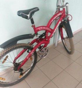 Велосипед OLYMPIA 26 рама.