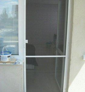 Маскитная дверь для балкона